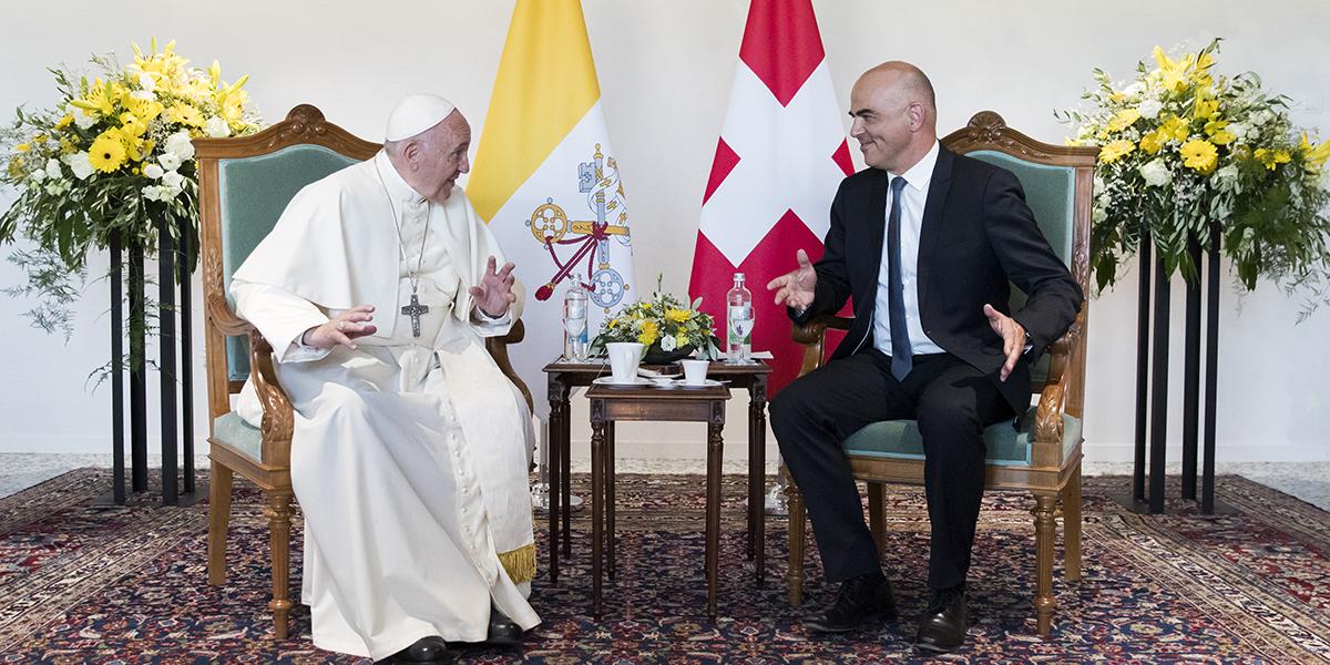 POPE FRANCIS VISIT SWITZERLAND
