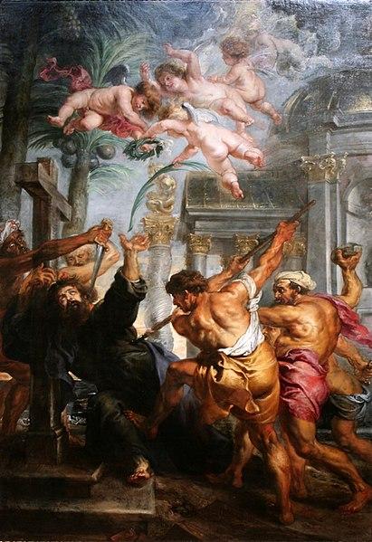 MARTYRDOM OF ST THOMAS