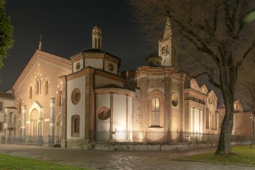 SANT'EUSTORGIO, CHIESA, MILANO
